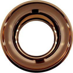Ανταυγαστήρας Στρογγυλός Ροζ Χρυσό για το Σποτ Οροφής Χωνευτό Molly R90451CRG - Aca