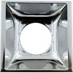 Ανταυγαστήρας Τετράγωνος Χρώμιο για το Σποτ Οροφής Molly R90461CCHR - Aca
