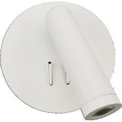 Φωτιστικό Απλίκα Οροφής Τοίχου Zeus Μέταλλο Λευκό Ματ LED 7W 3000K 280lm Φ13.5cm SF1801LEDW - Aca