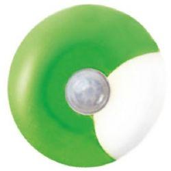 Φωτάκι Νυκτός Led Πράσινο UFO 0.4W 6000K με Αισθητήρα Ημέρας Νύχτας Φ8cm 55504LEDG - Aca