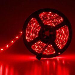 Led Ταινία Αυτοκόλλητη 19.2W/m 12VDC 240 SMD5050/m Κόκκινο Χρώμα Μη Στεγανή IP20 5m LS20-00602 - Atman