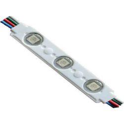 Αλυσίδα με Led Modules Σετ 20τμχ 0.72W/mod 12VDC RGB για Φωτισμό Γραμμάτων & Επιγραφών MOD-00105 - Atman