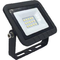 Προβολέας Led Tablet Slim Mαύρος 10W 230V 800lm 4000K Φυσικό Λευκό FL-T-00014 - Atman