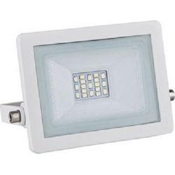 Προβολέας Led Στεγανός IP66 Λευκός 10W 800lm 3000K Θερμό Λευκό 13.7x11.8cm X1030W - Aca