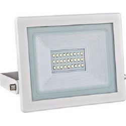 Προβολέας Led Στεγανός IP66 Λευκός 20W 1700lm 6000K Ψυχρό Λευκό 18x18.7cm X2060W - Aca