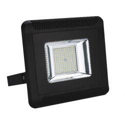 Προβολέας Led Στεγανός IP66 Μαύρος 150W 13100lm 4000K Φυσικό Λευκό 34.5x37cm X15040 - Aca