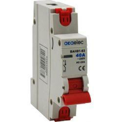 Ραγοδιακόπτης Μονοπολικός 1P 40A 230V Σετ 12τμχ DY02110005 - Aca