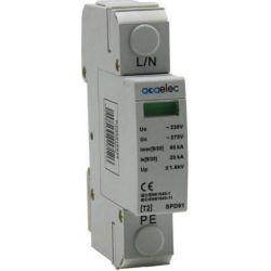 Απαγωγός Υπέρτασης Αντικεραυνικό Τύπου T2 1P 40kA 230V Σετ 4τμχ DY02010029 - Aca