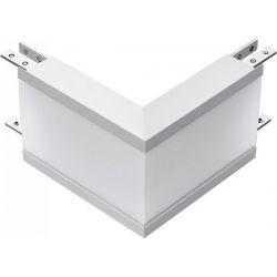 Led Σύνδεσμος Εξωτερική Γωνία για Χωνευτό Γραμμικό Φωτιστικό Samsung 12W Φυσικό Λευκό 4000Κ Λευκό Σώμα 389 - V-TAC