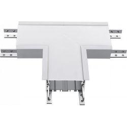 Led Σύνδεσμος σε Σχήμα Ταυ για Χωνευτό Γραμμικό Φωτιστικό Samsung 14W Φυσικό Λευκό 4000Κ Ασημί Σώμα 392 - V-TAC