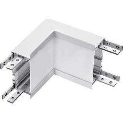 Led Σύνδεσμος Εσωτερική Γωνία για Χωνευτό Γραμμικό Φωτιστικό Samsung 10W Φυσικό Λευκό 4000Κ Λευκό Σώμα 396 - V-TAC