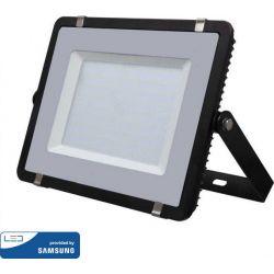 Προβολέας Led Samsung Chip 300W Φυσικό Λευκό 4000Κ 36000lm Μαύρο Σώμα 791 - V-TAC