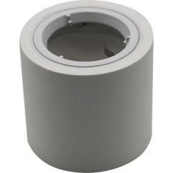 Φωτιστικό Spot Οροφής Επιφανειακό GU10 Γύψινο Στρογγυλό Λευκό Φ7x7.5cm 3667 - V-TAC