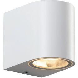 Φωτιστικό Σποτ Επίτοιχο Απλίκα Dasa-GS GU10 Αλουμίνιο Λευκό Ματ IP54 LG2201GU10W - Aca