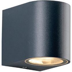 Φωτιστικό Σποτ Επίτοιχο Απλίκα Dasa-GS GU10 Αλουμίνιο Γκρι Σκούρο IP54 LG2201GU10G - Aca