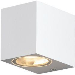Φωτιστικό Σποτ Επίτοιχο Απλίκα Vita-GS GU10 Αλουμίνιο Λευκό Ματ IP54 LG2203GU10W - Aca