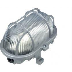 Φωτιστικό Απλίκα Βιομηχανική Τύπου Χελώνα E27 Πλαστικό Γκρι IP44 AC.045PBG - Aca