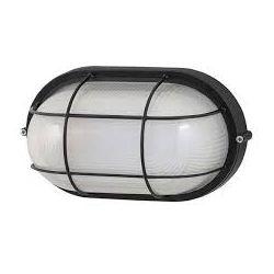 Φωτιστικό Απλίκα Τύπου Χελώνα E27 Αλουμίνιο Μαύρο IP45 HI5021B - Aca