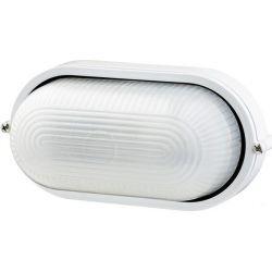 Φωτιστικό Απλίκα Τύπου Χελώνα E27 Αλουμίνιο Λευκό IP45 HI5032W - Aca