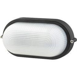 Φωτιστικό Απλίκα Τύπου Χελώνα E27 Αλουμίνιο Μαύρο IP45 HI5032B - Aca