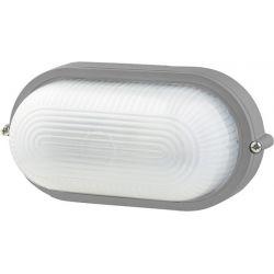Φωτιστικό Απλίκα Τύπου Χελώνα E27 Αλουμίνιο Γκρι IP45 HI5032G - Aca