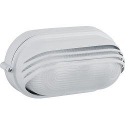 Φωτιστικό Απλίκα Τύπου Χελώνα E27 Αλουμίνιο Λευκό IP45 HI5033W - Aca