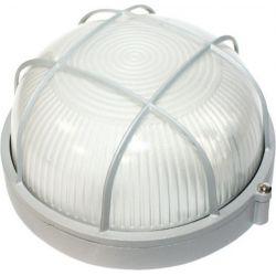 Φωτιστικό Απλίκα Τύπου Χελώνα E27 Αλουμίνιο Γκρι IP45 Φ19cm HI5011G - Aca