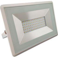 Προβολέας Led 50W 4250lm Θερμό Λευκό 3000Κ E-Series Λευκό Σώμα 5961 - V-TAC