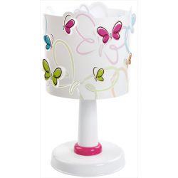 Φωτιστικό κομοδίνου Butterfly για λάμπα με ντουί Ε14 (29,00 Χ Φ15,00εκ.)