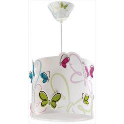 Φωτιστικό οροφής Butterfly με διαχυτή φωτός από πολυπροπυλένιο αντοχής & κιτ ανάρτησης. (Φ26,00 X 25,00εκ.)