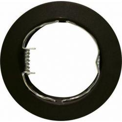 Φωτιστικό Σποτ GU10 - MR16 Χωνευτό Μεταλλικό Στρογγυλό Μαύρο Φ7.5cm AC.0451042WB - Aca