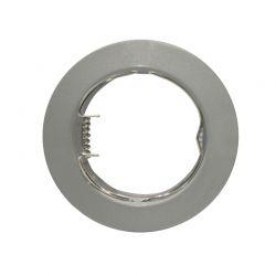 Φωτιστικό Σποτ GU10 - MR16 Χωνευτό Μεταλλικό Στρογγυλό Γκρι Βαφής Φ7.5cm AC.0451042SG - Aca