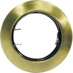 Φωτιστικό Σποτ GU10 - MR16 Χωνευτό Μεταλλικό Στρογγυλό Μπρονζέ Φ7.5cm AC.0451042GA - Aca