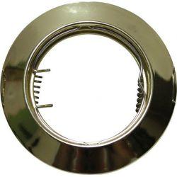 Φωτιστικό Σποτ GU10 - MR16 Χωνευτό Μεταλλικό Στρογγυλό Χρυσό Φ7.5cm AC.0451042G - Aca