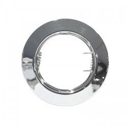 Φωτιστικό Σποτ GU10 - MR16 Χωνευτό Αλουμινίου Στρογγυλό Νίκελ Φ7.5cm AC.0451042NA - Aca