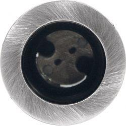 Φωτιστικό Σποτ G4 Χωνευτό Αλουμινίου Στρογγυλό Νίκελ Ματ Φ3.6cm BS3153NNM - Aca