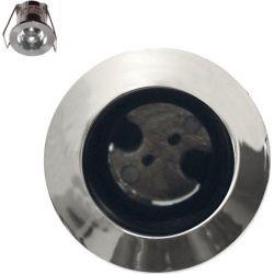 Φωτιστικό Σποτ G4 Χωνευτό Αλουμινίου Στρογγυλό Νίκελ Φ3.6cm BS3153NCP - Aca