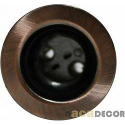 Φωτιστικό Σποτ G4 Χωνευτό Αλουμινίου Στρογγυλό Μπρονζέ Φ3.6cm BS3153NGAB - Aca