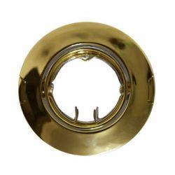 Φωτιστικό Σποτ G4 - MR11 Χωνευτό Κινητό Στρογγυλό Ατσάλι Χρυσό Φ6.4cm AC.04532G - Aca