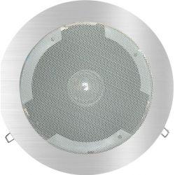 Ηχείο Ψευδοροφής Χωνευτό 30W Ατσάλι Λευκό Φ24cm EKOW - Aca