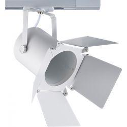 Φωτιστικό Σποτ Ράγας 2 Καλωδίων Μονοφασικό E27 PAR30 Ατσάλι Λευκό 238TLW2W - Aca