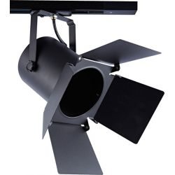 Φωτιστικό Σποτ Ράγας 2 Καλωδίων Μονοφασικό E27 PAR30 Ατσάλι Μαύρο 238TLB2W - Aca