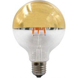 Λάμπα Led Ανεστραμμένου Καθρέπτου Dimmable E27 G95 Filament 6W Θερμό Λευκό 2700Κ 690lm Χρυσό GLOBE956WWDIMGN - Aca