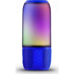 Ηχείο Ασύρματο με Φωτισμό RGB 6W με Bluetooth & USB & TF Κάρτα Μπλε Σώμα 8569 - V-TAC