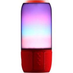 Ηχείο Ασύρματο με Φωτισμό RGB 6W με Bluetooth & USB & TF Κάρτα Κόκκινο Σώμα 8571 - V-TAC