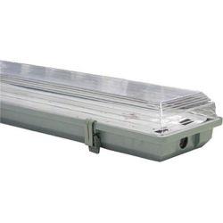 Φωτιστικό Οροφής Στεγανό Διπλό 2xG13 T8 60cm IP65 AC.7218LED - Aca