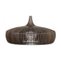 Φωτιστικό Οροφής Ξύλινο Clava Dine Wood Dark Oak E27 Σκούρα Οξιά Φ43x24cm 2344 - UMAGE