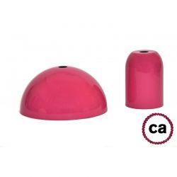 Ντουί Ε27 διακοσμητικό φούξια σέτ με ροζέτα & αξεσουάρ