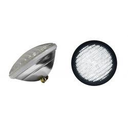 Λάμπα led par56 (πισίνας ) με 240 led smd 12v ac/dc 15watt δέσμης 70°θερμό λευκό 1000 lumen