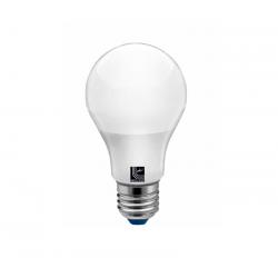 Λάμπα led τύπου αχλάδι Ε27 πλαστικό μάτ 7watt 230v 500lumen Ø 60 θερμό λευκό 3000Κ
